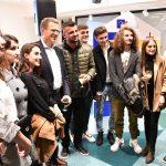 Studentët e UT-së e vizituan selinë e BE-së në Shkup