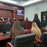 """Studentët e Fakultetit Juridik të UT-së fituan çmime në garat """"Ditët e gjykimit të simuluar"""""""