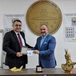 Posta e Maqedonisë së Veriut lëshoi në qarkullim pullën postare me logon e UT-së
